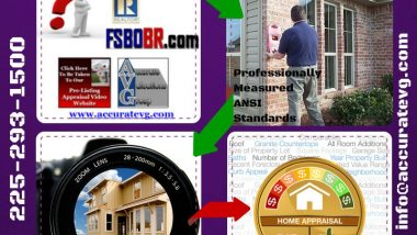 Baton Rouge Pre-Listing Home Appraisals