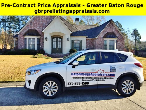 pre contract price appraisals baton rouge